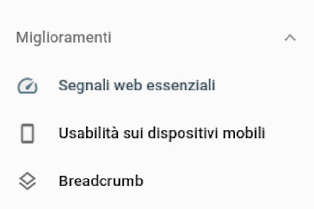 Google segnali essenziali